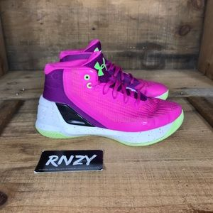 Under Armour Curry 3 Lunar Pink